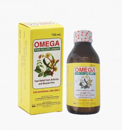 Omega Pain Killer Liniment 120ML