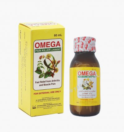 Omega Pain Killer Liniment 60ML
