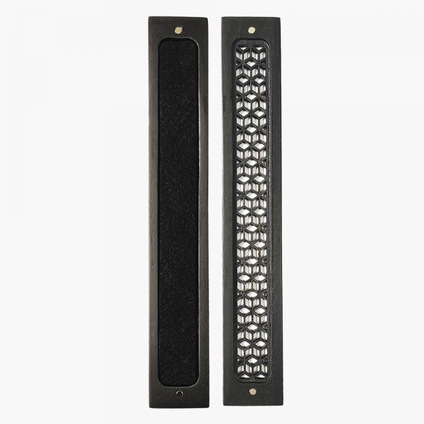 Premium Black Wooden Incense Stick Holder