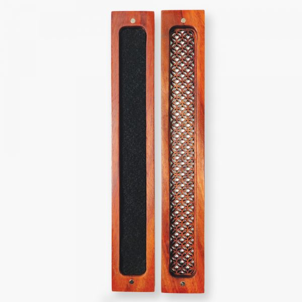 Premium Brown Wooden Incense Stick Holder