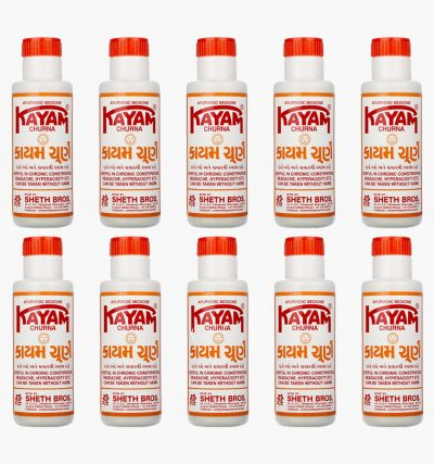 Kayam Churna 100g x 10 Multi Pack